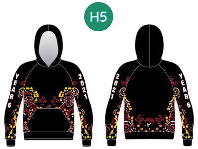 Sublimated Year 10 & 12 Hoodies & Sweatshirts - image 2021-Hoodie-5-400x300 on https://www.crocodilecreek.com.au