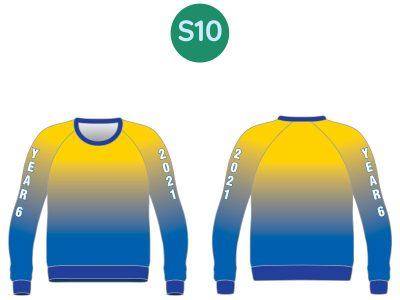 Sublimated Year 10 & 12 Hoodies & Sweatshirts - image 2021-Sweat-S10-400x300 on https://www.crocodilecreek.com.au