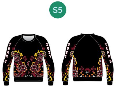 Sublimated Year 10 & 12 Hoodies & Sweatshirts - image 2021-Sweat-S5-400x300 on https://www.crocodilecreek.com.au