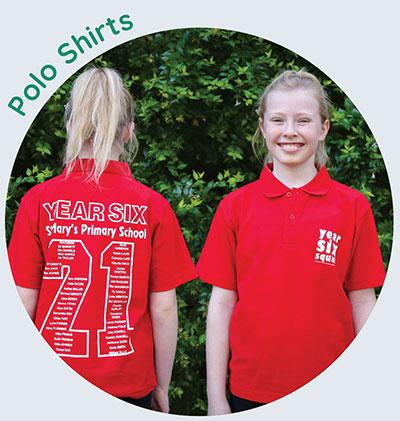 Year 6 Shirts