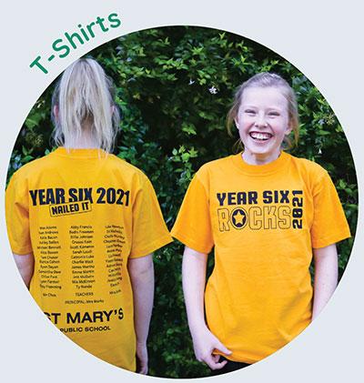 screen printed tshirts - Year 6 Shirts