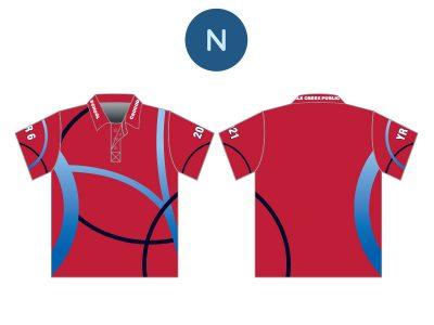 Screen Printed Year 10 & 12 Shirts - image sublimated-n-400x300 on https://www.crocodilecreek.com.au