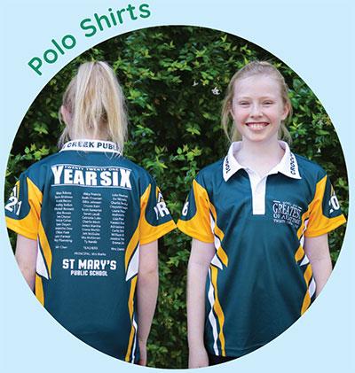Year 6 Shirts - image sublimated-polo-shirts on https://www.crocodilecreek.com.au