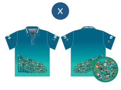 Screen Printed Year 10 & 12 Shirts - image sublimated-x-400x300 on https://www.crocodilecreek.com.au